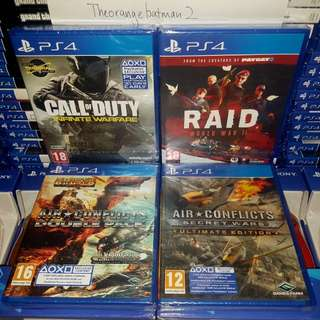 PS4 GAMES COLLECTION 20.