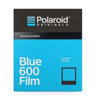 POLAROID BLUE FILM FOR 600 DUOCHROME