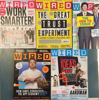 WIRED UK magazine - 6 issues from 2010