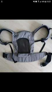 Like New Pognae Baby Carrier Grey