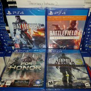 PS4 GAMES COLLECTION 21.