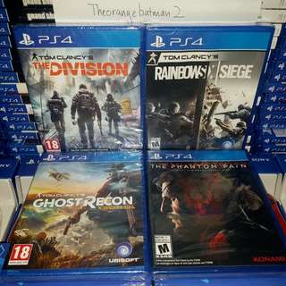 PS4 GAMES COLLECTION 22.