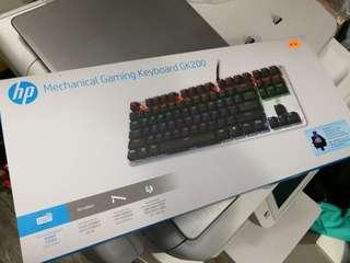 HP 青軸機械鍵盤 gaming keyboard