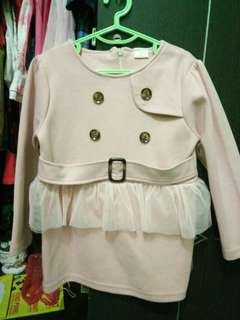 Dress anak model korea