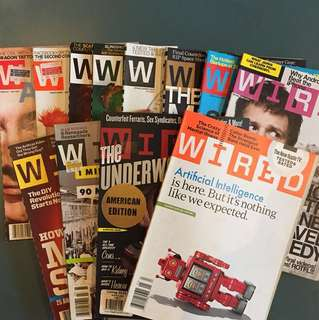 WIRED USA magazine 2011 - complete 12 issues