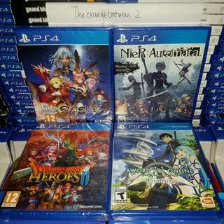 PS4 GAMES COLLECTION 24.