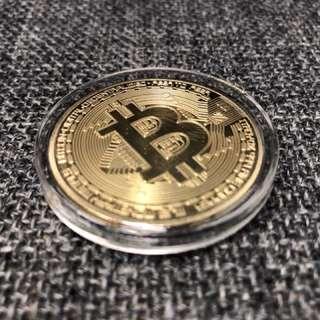 Bitcoin 比特幣 紀念硬幣