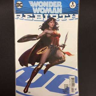 Wonder Woman Rebirth #1