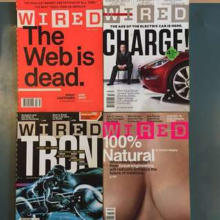 WIRED USA magazine 2010 - (10 issues)