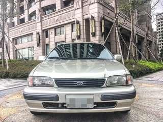 2000年 優質代步。TOYOTA TERCEL 1.5L 好開省油 內裝乾淨 倒車雷達 皮椅 可履約保證無重大事故泡水
