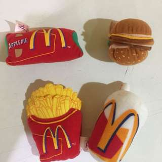 絕版麥當勞食物造型(一套4件)