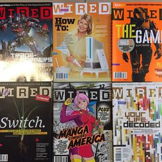 WIRED USA magazine 2007 - (11 issues)