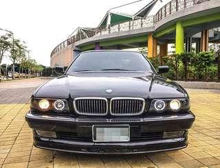 1998年 BMW735 保護妻小的優質神車 無待修 天窗 倒車顯影 電動椅 多功能方向盤
