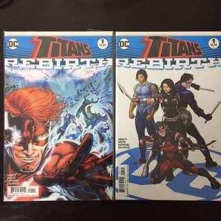 Flash Sale: Titans #1 x3