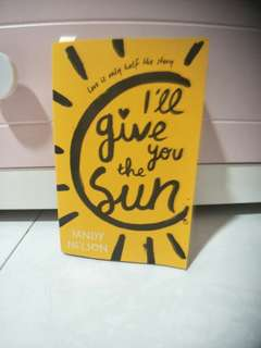 I'll Give You The Sun/Jandy Nelson book