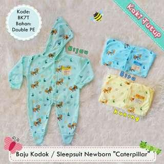 Sleepsuit/jumper hoodie bayi newborn
