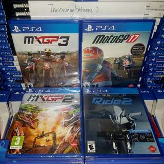 PS4 GAMES COLLECTION 30.