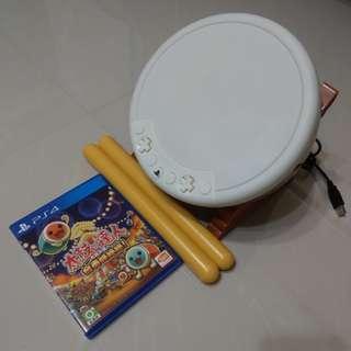 🚚 PS4 太鼓達人同捆組 含特典