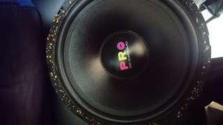 美國低音12吋