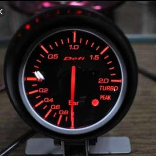 Defi Meter (Brand New) Tacho/Volt/Oil Temp/Water Temp/Boost