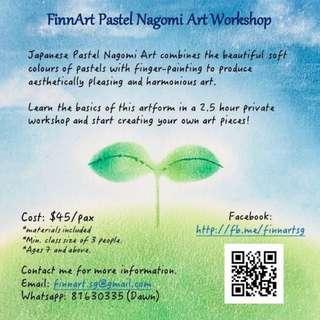 Japanese Pastel Nagomi Art Workshops