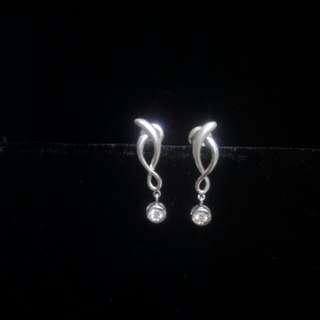 🚚 鑽石耳環