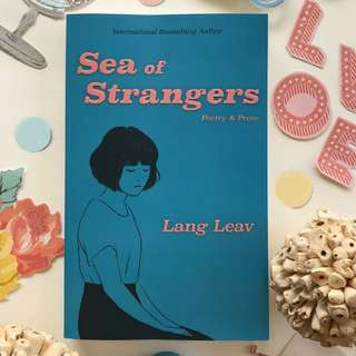 Brand New - Sea of Strangers by Lang Leav - Softcover