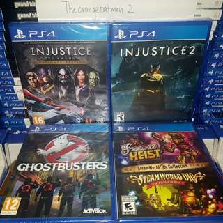 PS4 GAMES COLLECTION 33.