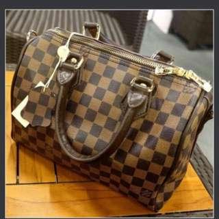 REPRICE!!! Louis Vuitton - tas LV super premium
