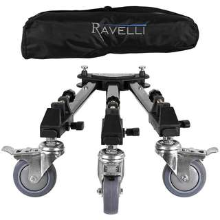 Ravelli ATD Professional Tripod Dolly for Camera Photo Video  -- 474