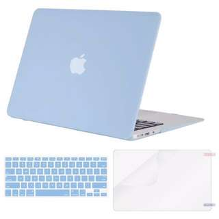 "Macbook Air 11"" Hard Case w/ Keyboard Cover & Screen Protector"