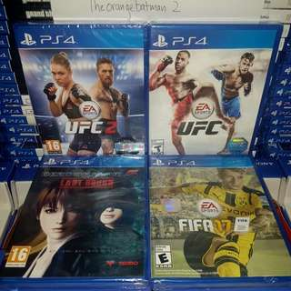 PS4 GAMES COLLECTION 40.