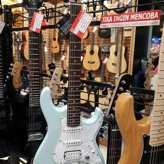 Cort E/Guitar G250-BBL Bunga 0% Dp 0%