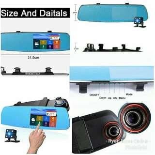 Smart Dual Camera Touchscreen Dashcam