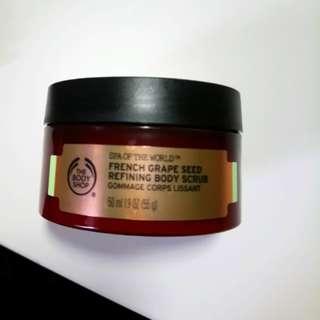 The Body Shop French Grape Seed Refining Body Scrub