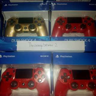 PS4 Controllers Brand New Sealed in Packaging