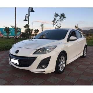僅跑6萬餘公里2010.10出廠Mazda 3 實車實價可分期輕鬆擁有