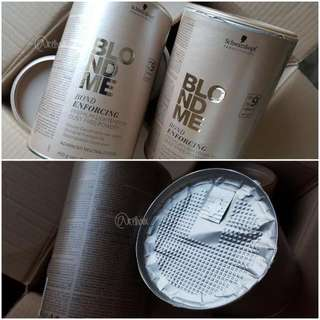 BLONDME Bond Enforcing Premium Lightener 9+ 30/100/200/450g Provides up to 9 levels of lift