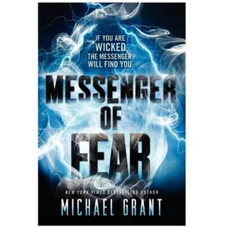 {Brand New} Messenger of Fear By: Michael Grant