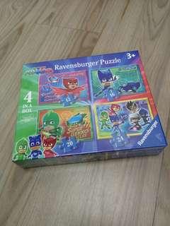 PJ Masks Puzzles x 4