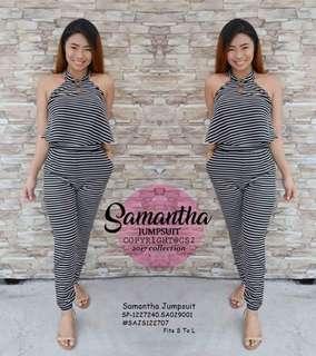 Samantha jumpsuit fits S-L