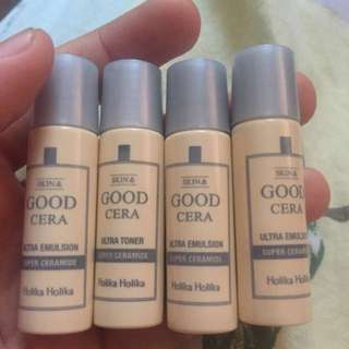 holika holika good cera ultra toner / emulsion