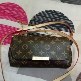 lv Louis Vuitton favorite pm