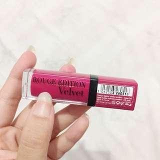Bourjois Rouge Edition Velvet (Free Ongkir)