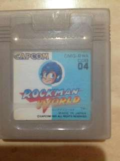 Rockman World  1 (Dr. Wily's Revenge) GB