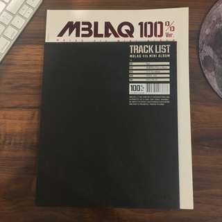 MBLAQ 4th MINI ALBUM