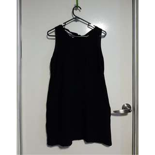 Black Mini Length Dress