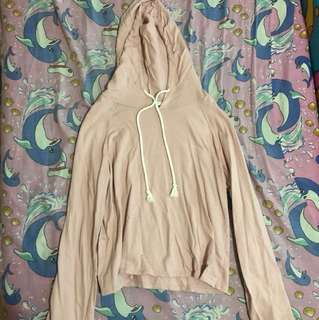 Forever21 Blush Pink Hoodie