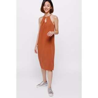 LOVE BONITO Cortina Pleat Camisole Dress