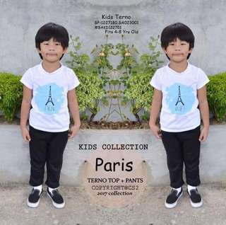 Kids terno fits 4-8 yrs old ⚛️100% cotton